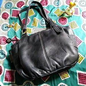 The Sak Bags - The Sak Black Satchel Bag Leather Microfiber Purse